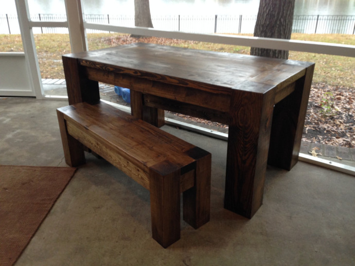 How to build a RH Vintage Parsons play table for a fraction of the price.