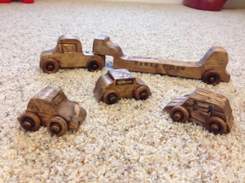 Diy Toy Car Carrier Form 2x4 Plans