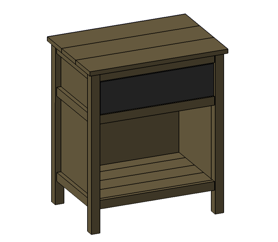 Cooper Night Stand by RogueEngineer.com
