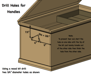 DIY Hope Chest - Step 9