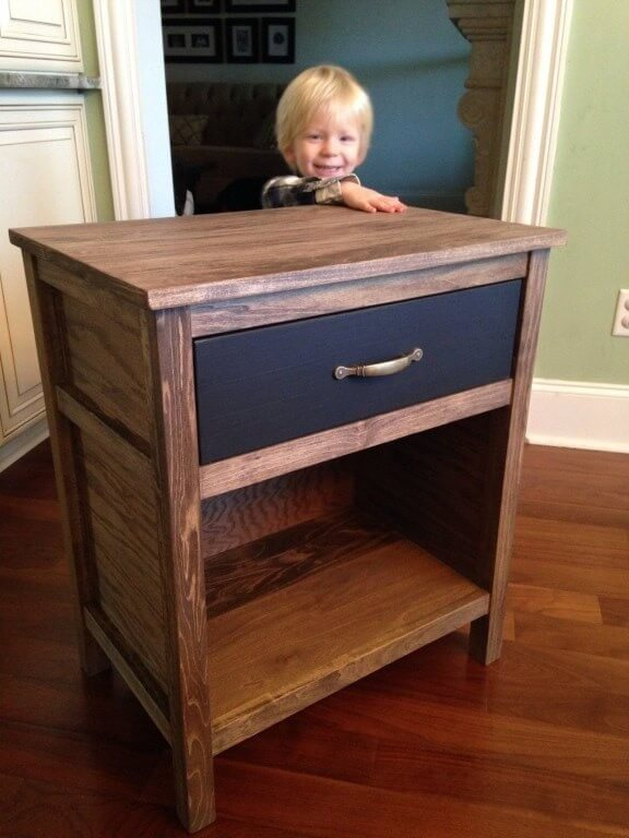 diy cooper nightstand | free plans | rogue engineer Diy Nightstand Plans