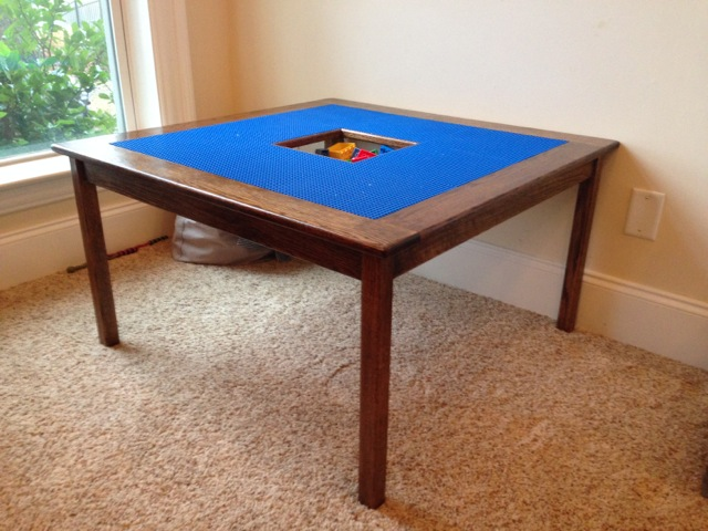 Delicieux DIY LEGO Table
