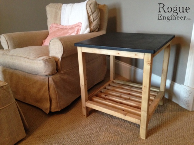 Diy End Table Pottery Barn Knock Off