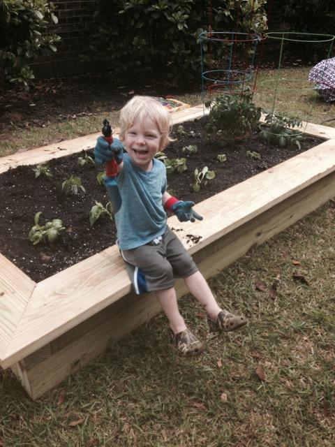Garden DONE!