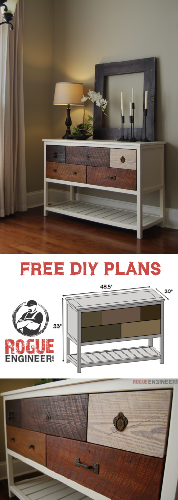 Free Console Table Plans | Rogue Engineer