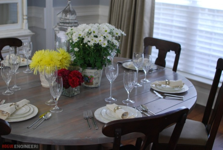 Cut Circlular Table Top - Free Plans