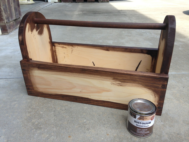 Distressed Finish - Step 1
