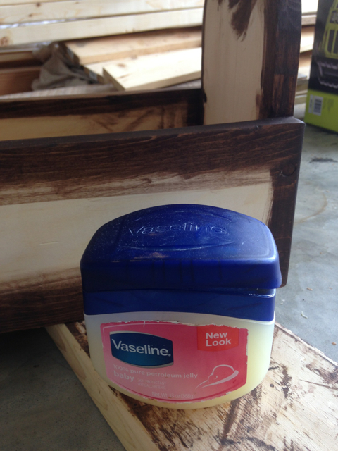Distressed Finish - Step 2a