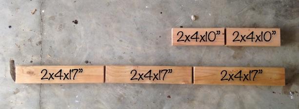 Toddler Bathroom Step - Cut Wood