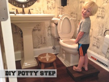 Toddler Potty Step - Free DIY Plans