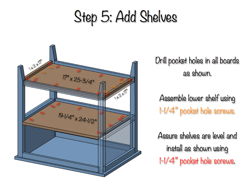DIY Bedside Table Plans - Step 5