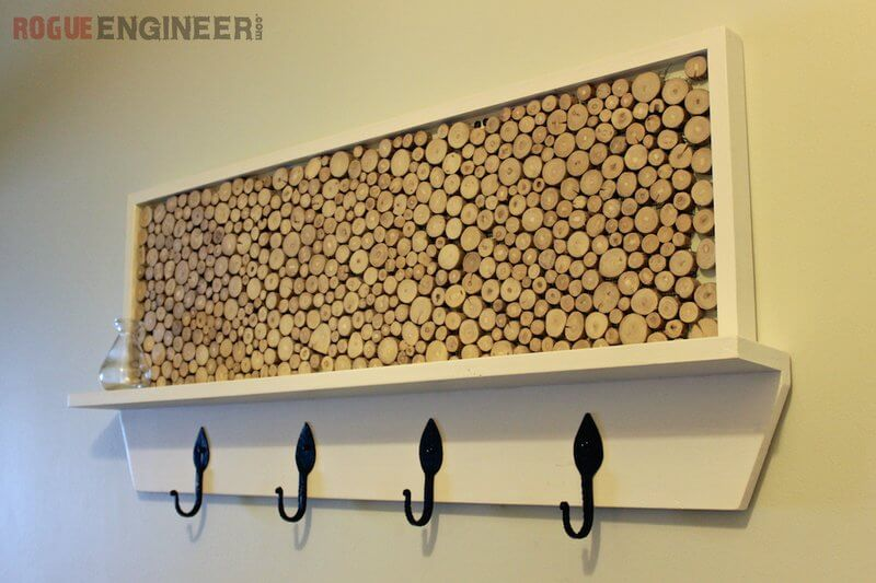 DIY Coat Rack Plans With Feature Area Rogue Engineer Mesmerizing Diy Coat Rack Ideas