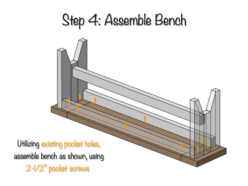 Strange Diy Farmhouse Bench Free Plans Rogue Engineer Pabps2019 Chair Design Images Pabps2019Com
