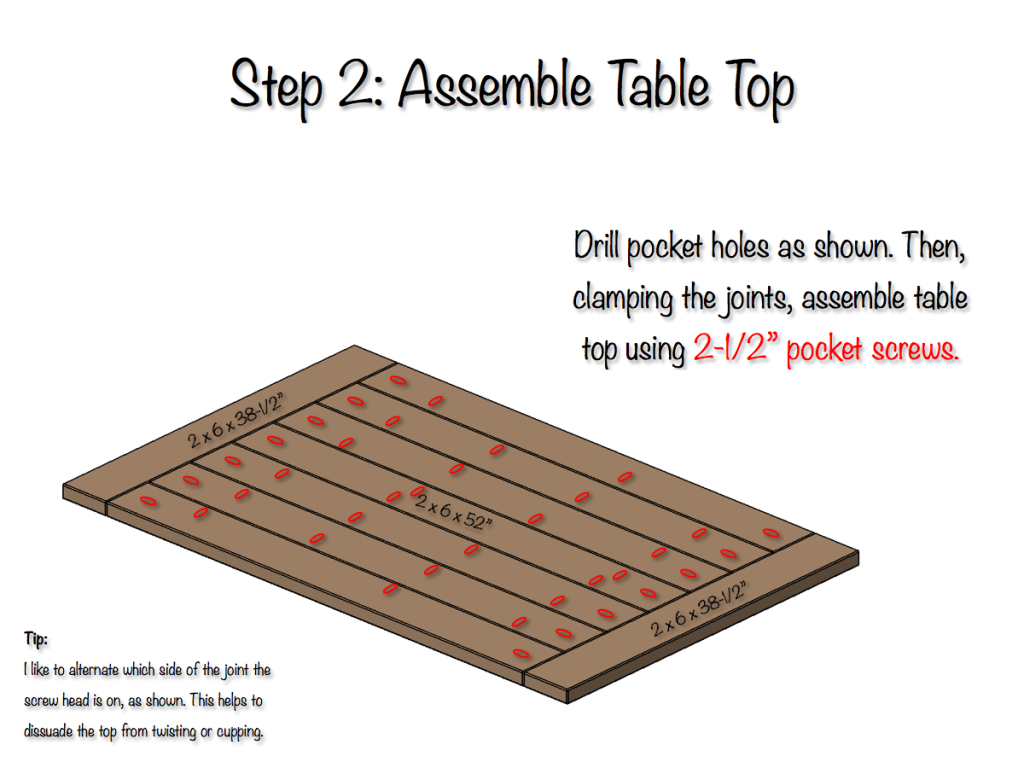 Free Aspect Table Plans