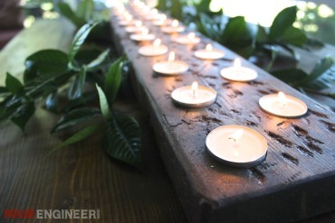 Tea Light Centerpiece | Free Plans | Rogue Engineer