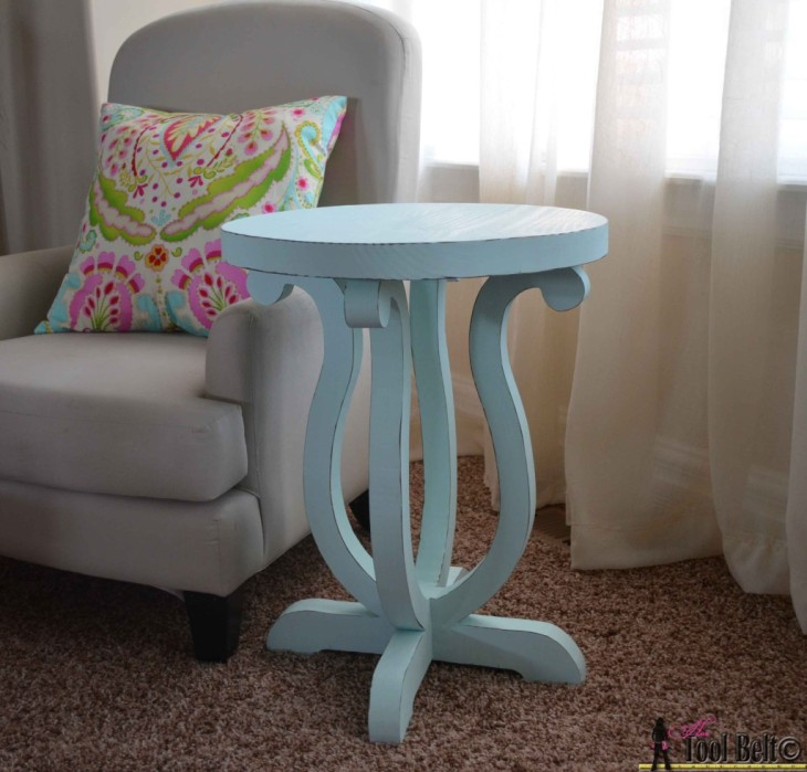 DIY Brynn Side Table | Pottery Barn Kids Knock-off | Free Plans