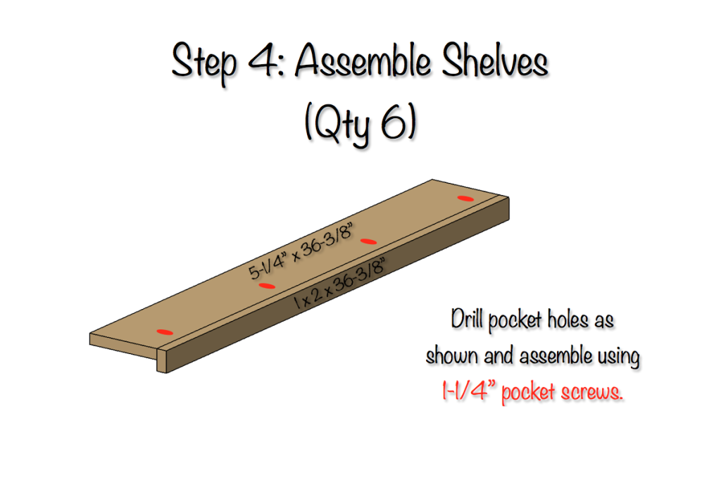 DIY Plywood Workbench Plans - Step 4