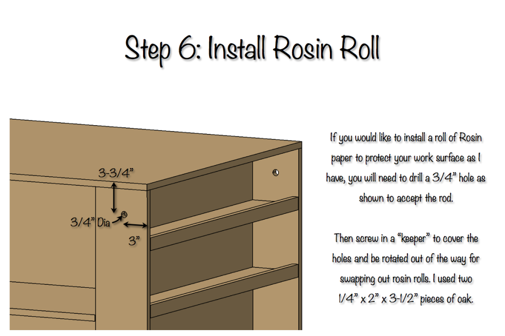 DIY Plywood Workbench Plan - Step 6