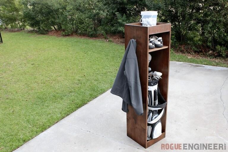 Diy golf locker free easy plans rogue engineer solutioingenieria Images