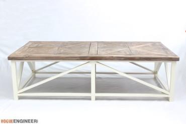 DIY Parquet Coffee Table Plans - Rogue Engineer 1