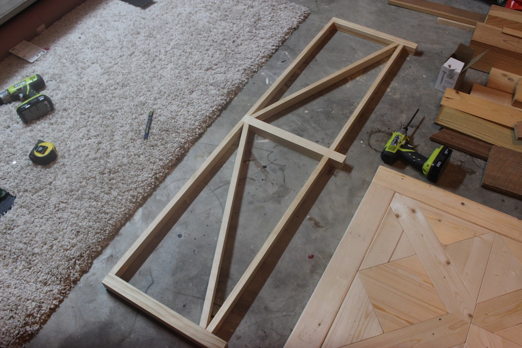 DIY Parquet X-Brace Coffee Table | Step 3