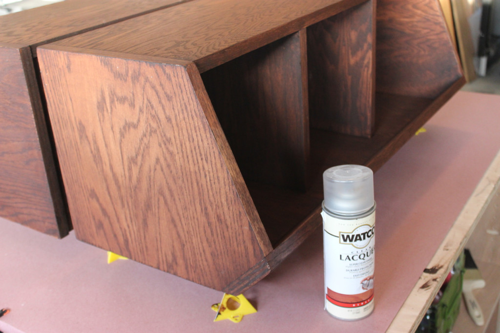 DIY Pottery Barn Bulk Bin Knock-off - Finishing