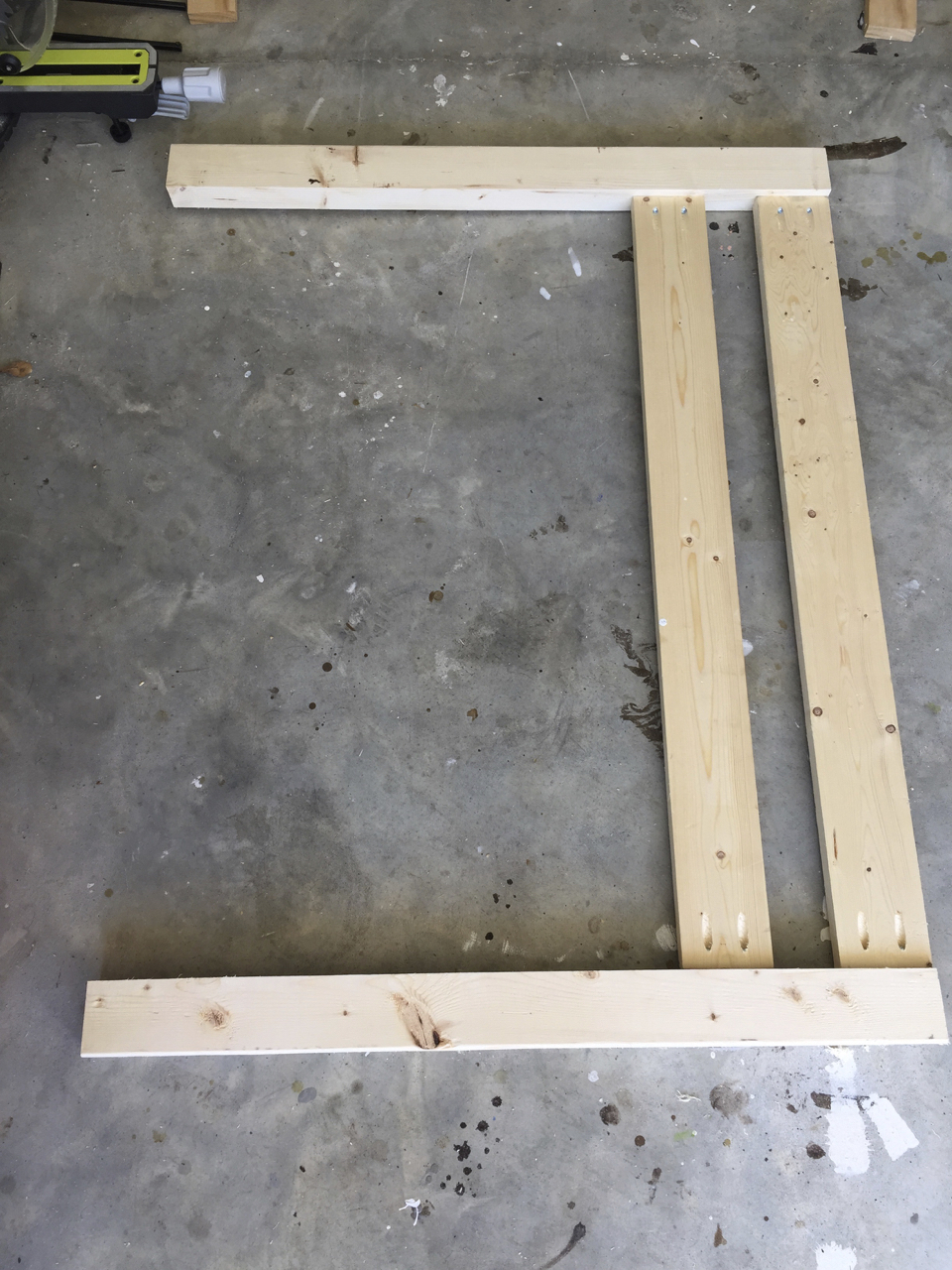 DIY Toddler Bed Rail | Step 1 | Completed