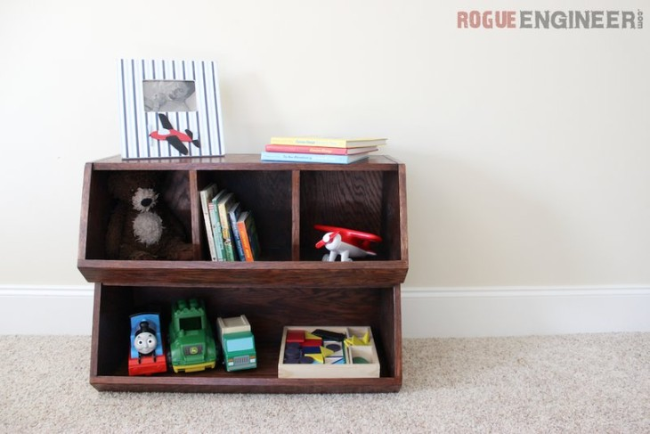 DIY Pottery Barn Kids Bulk Bins | Free Plans | Rogue Engineer