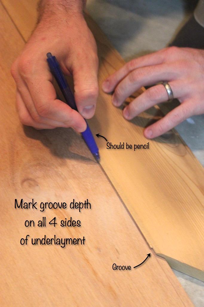 DIY Cedar-Framed Magnetic Chalkboard 1