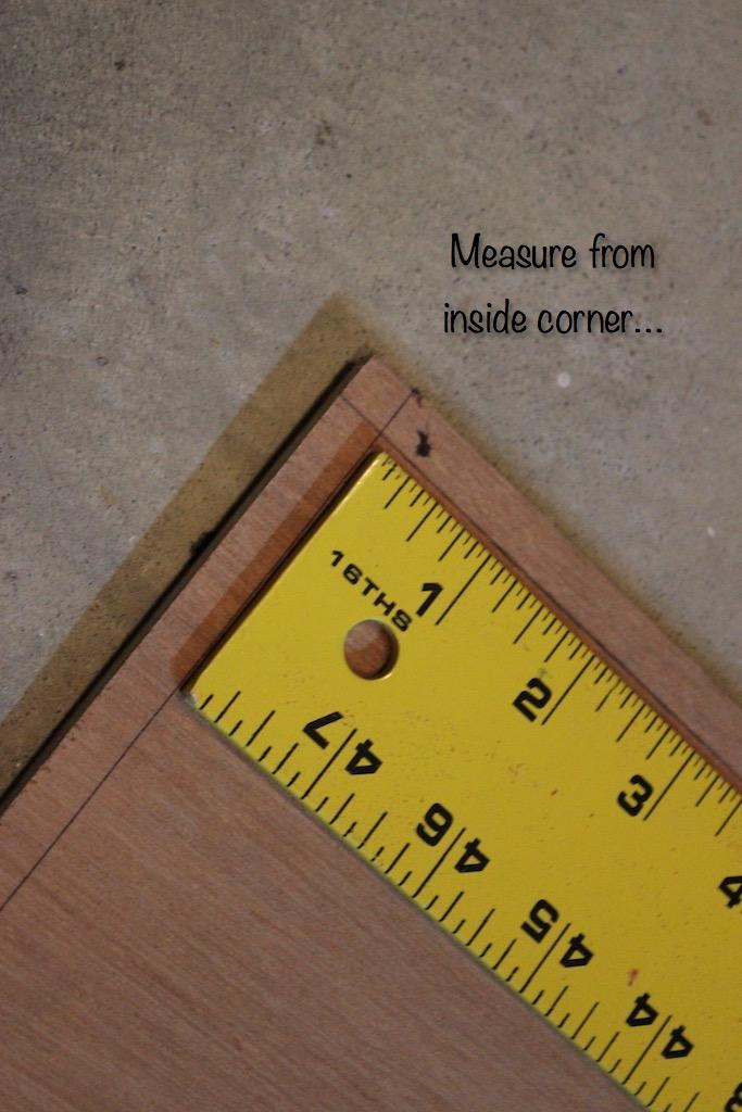 DIY Cedar-Framed Magnetic Chalkboard 3