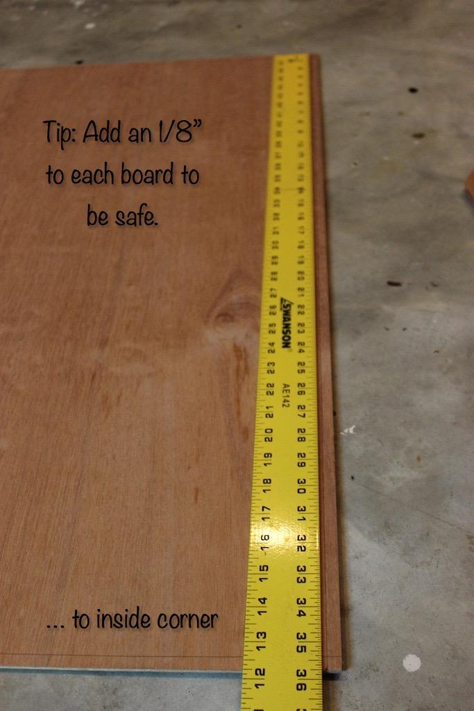 DIY Cedar-Framed Magnetic Chalkboard 4