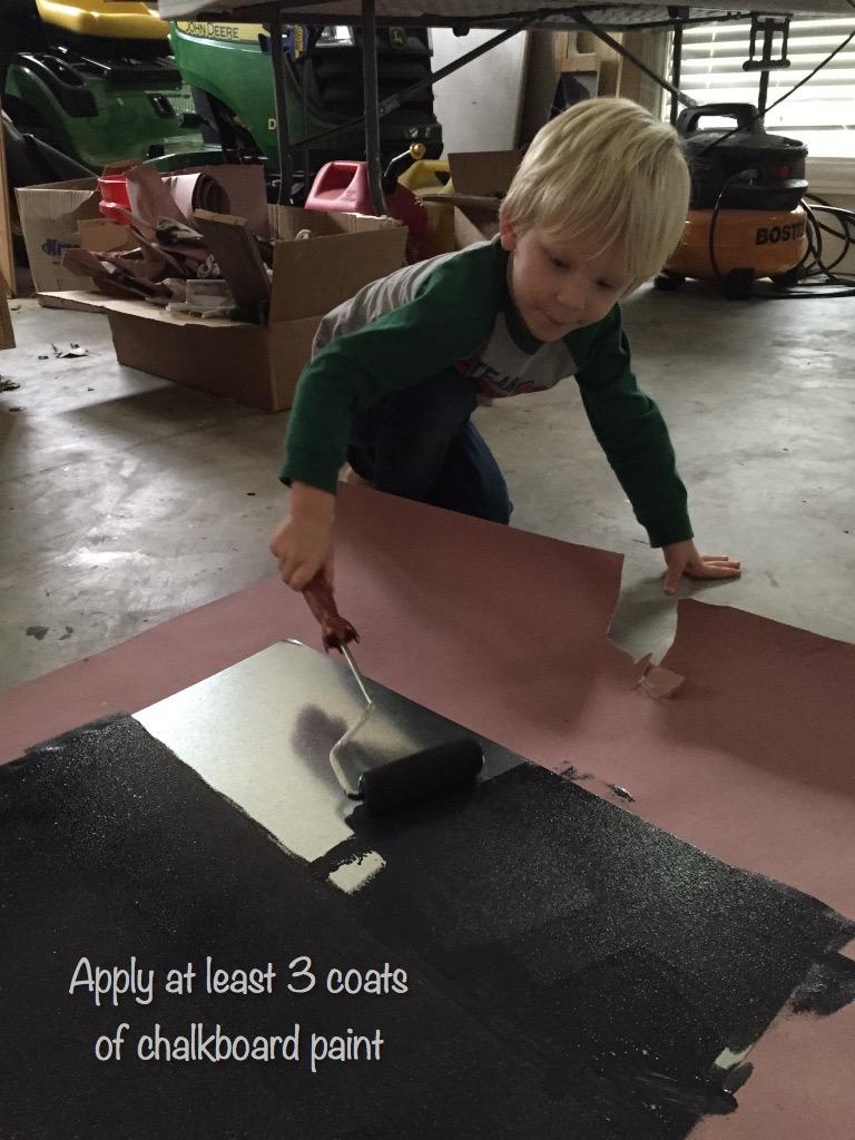 DIY Cedar-Framed Magnetic Chalkboard 8
