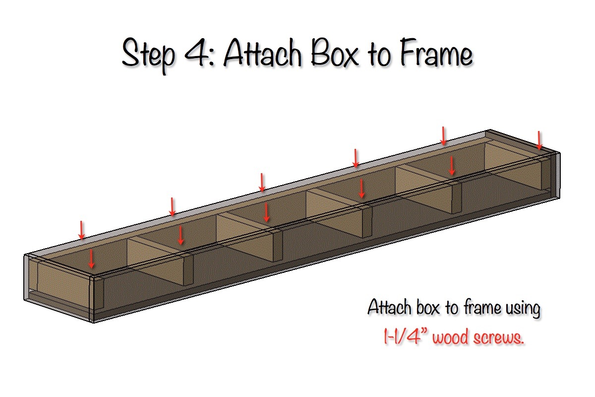 DIY Floating Shelves Free Plans Step 4