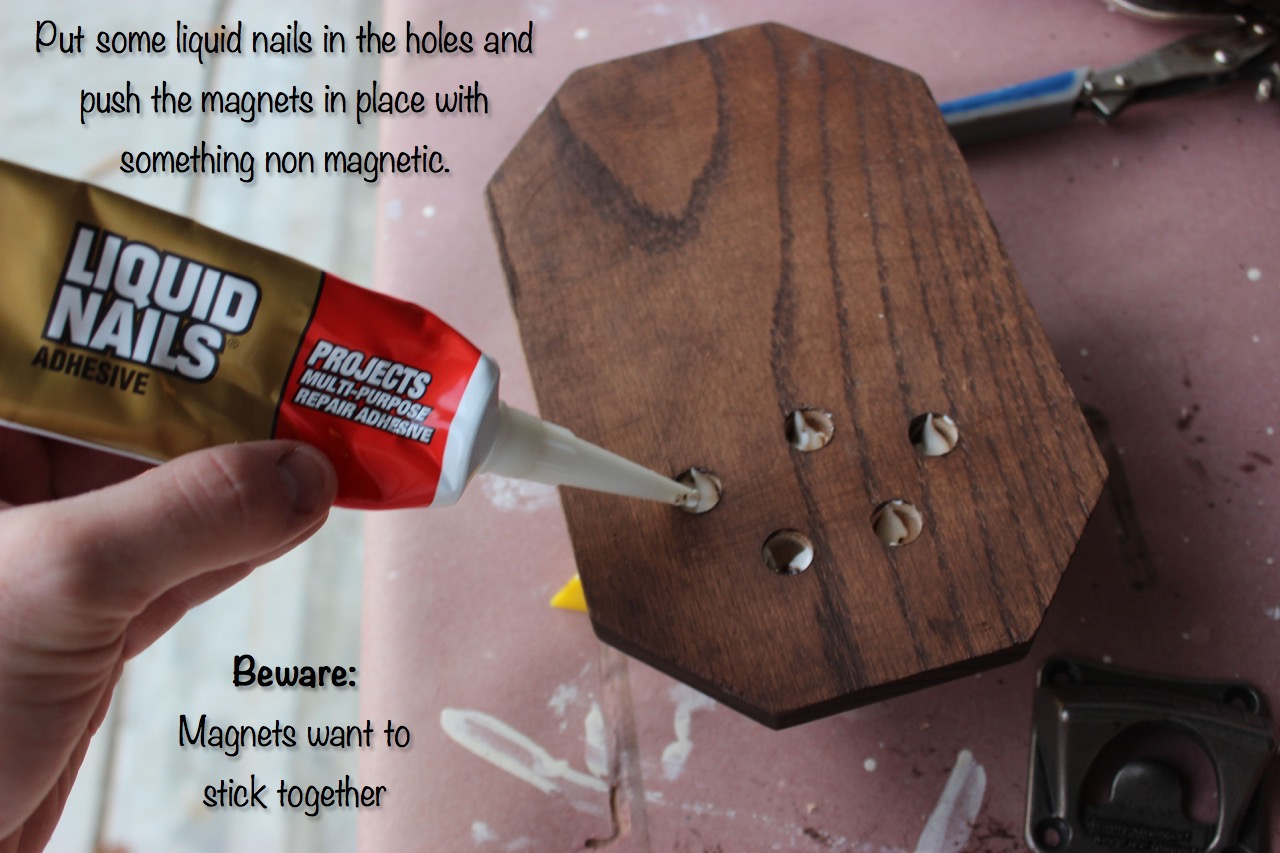 DIY Magnetic Bottle Opener - Step 5