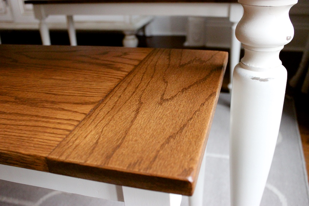 DIY Elegant Oak Farmhouse Bench | Free Plans | Rogue Engineer