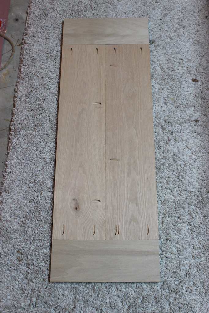 DIY Elegant Oak Farmhouse Bench | Step 2