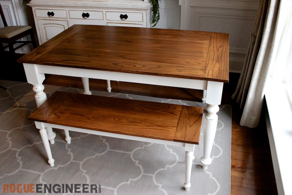 Terrific Diy Solid Oak Farmhouse Table Free Easy Plans Creativecarmelina Interior Chair Design Creativecarmelinacom