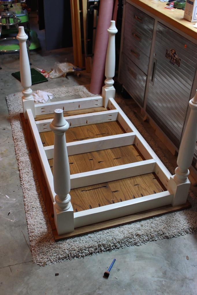 DIY Elegant Oak Farmhouse Table   Step 3