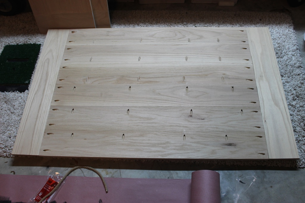 DIY Elegant Oak Farmhouse Table   Step 1