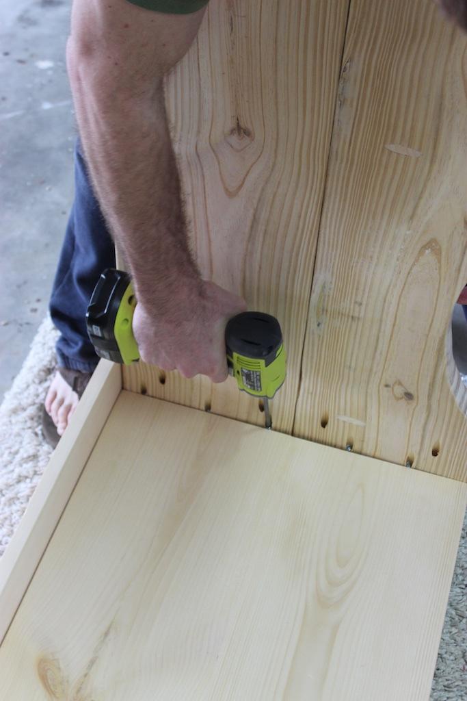 DIY Sicily Writing Desk Plans | Step 4
