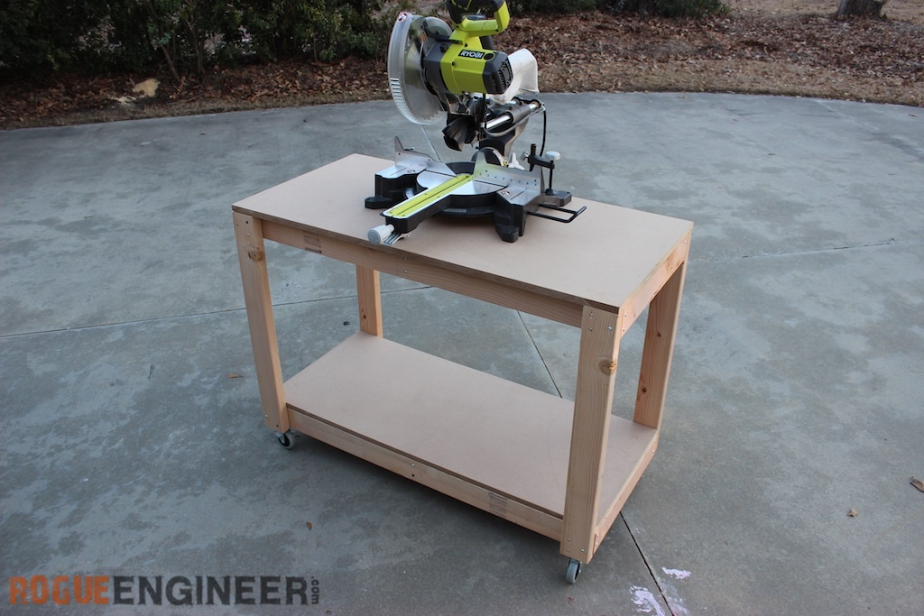 Easy DIY Portable Workbench Plan | Rogue Engineer