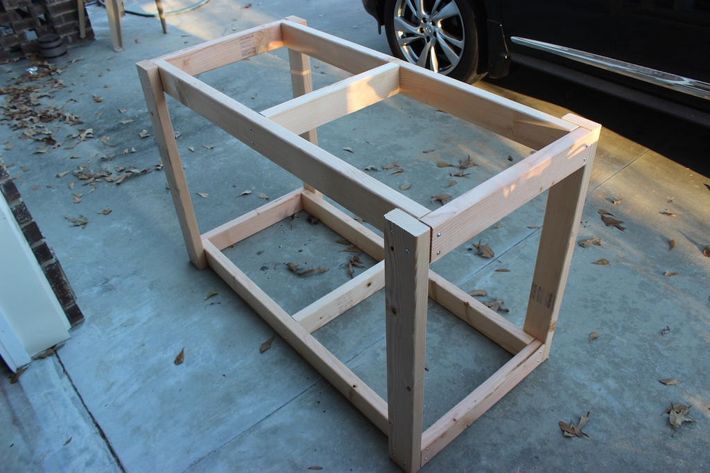 Easy DIY Portable Workbench Plans | Step 2