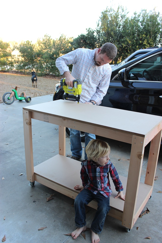 Easy DIY Portable Workbench Plans | Step 3