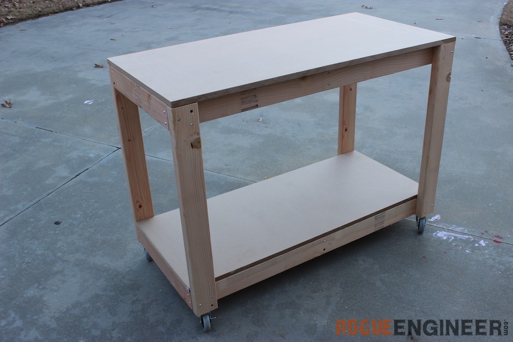 Easy Portable Workbench Plans Rogue Engineer – Plans For Building A Workbench In A Garage