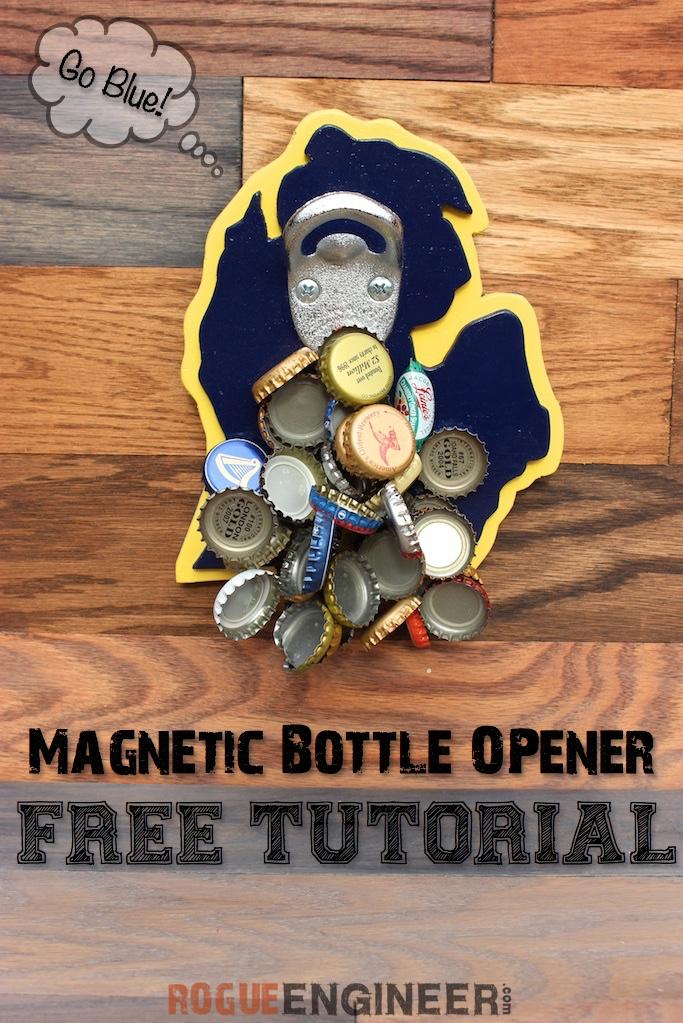 Michigan Magnetic bottle opener | Pinterest