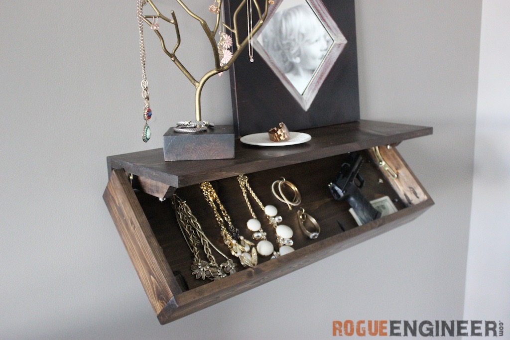 Secret Shelf | Free Plans | Rogue Engineer