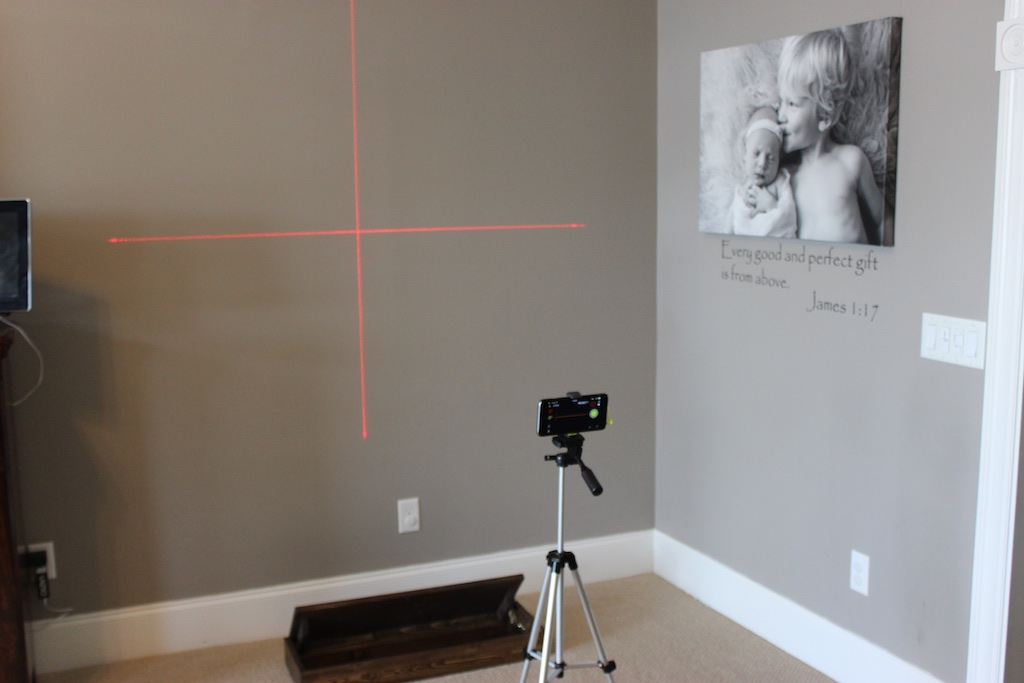 Secret Shelf | Free Plans | Laser Level