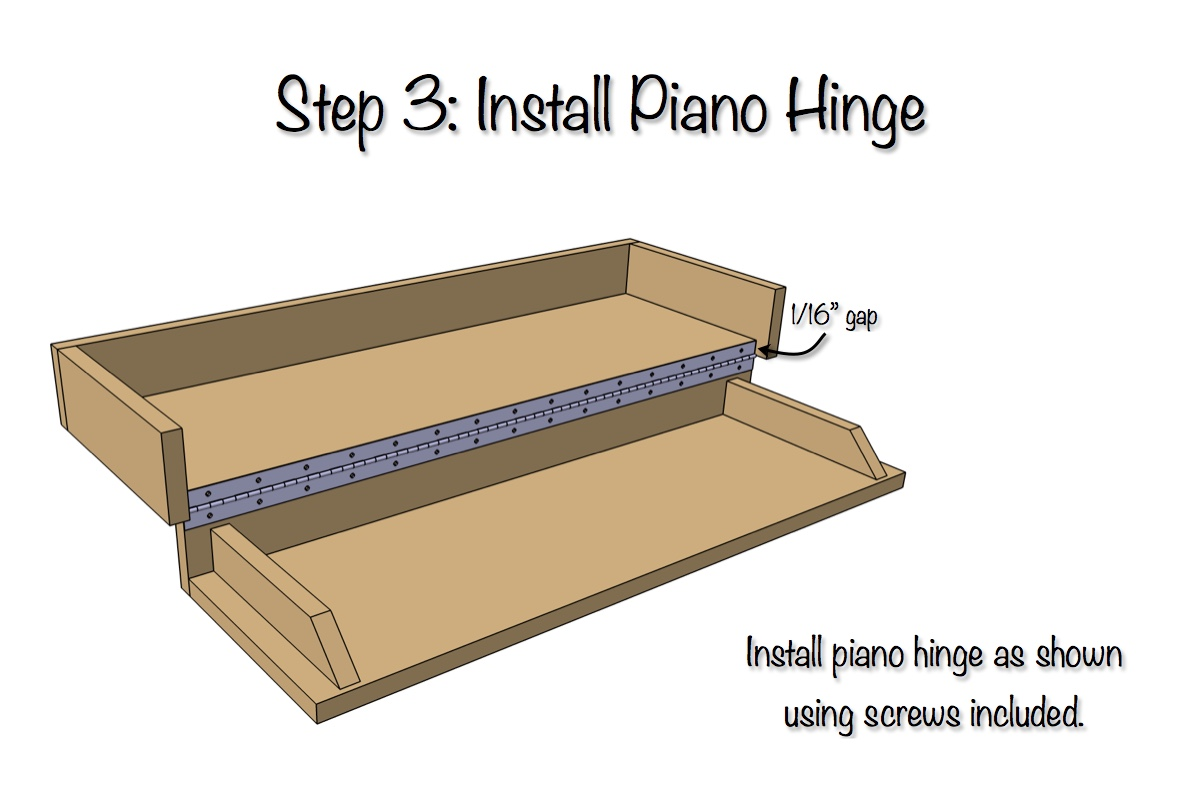 Secret Shelf | Free Plans | Step 3
