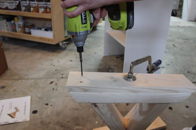 DIY X-Brace Bench | Step 2