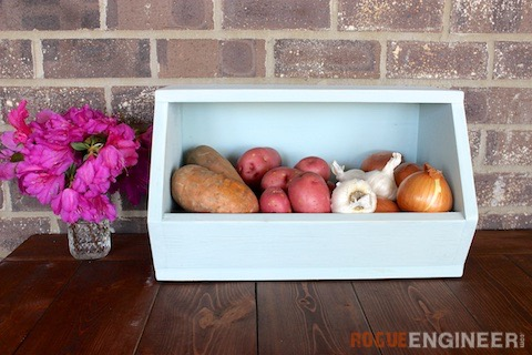 DIY Root Vegetable Storage Bin - Free Plans - Rogue Engineer